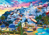 Santorini Sky - Cities Paint By Numbers