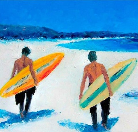 Surfing Boys - People Paint By Numbers