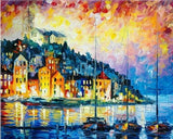 Monaco by The Sea- Cities Paint By Numbers