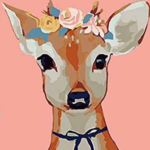 Handsome Deer- Animals Paint By Numbers
