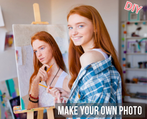 Make Your Own Photo With Paint By Numbers