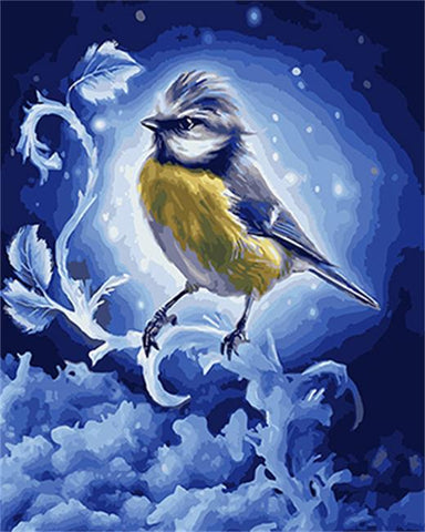 Freezing Bird- Birds Paint By Numbers