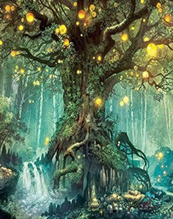Magic Tree - Landscape Paint By Numbers
