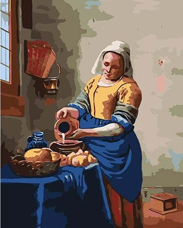 Women in the Kitchen - People Paint By Numbers