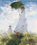 Woman with a Parasol Claude Monet - People Paint By Numbers
