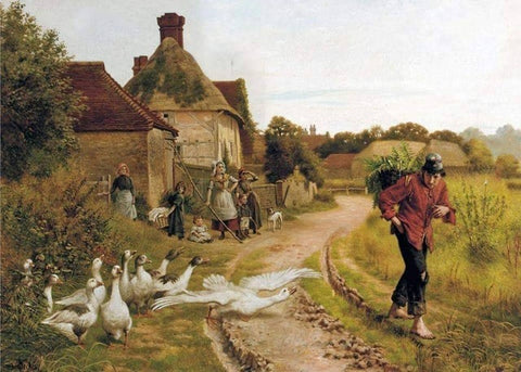 Farmers and Ducks- People Paint By Numbers