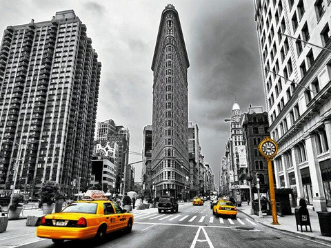 Flatiron Building New York - Cities Paint By Numbers