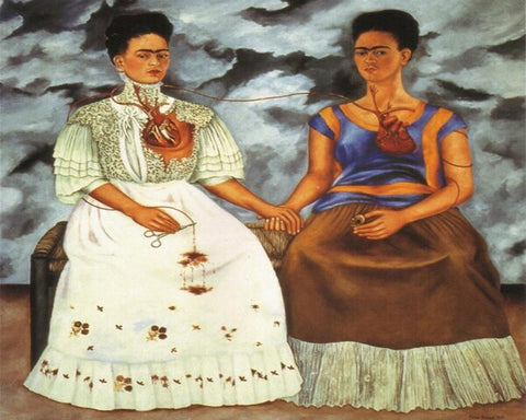Frida Kahlo The Two Fridas- People Paint By Numbers