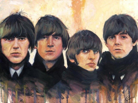 Beatles Members- People Paint By Numbers