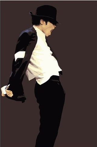 Classy Michael Jackson- People Paint By Numbers