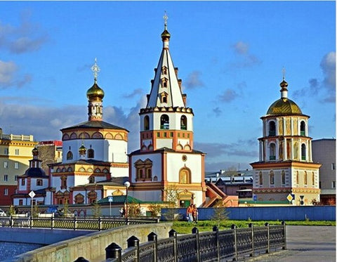 Epiphany Minster at Irkoutsk- Cities Paint By Numbers