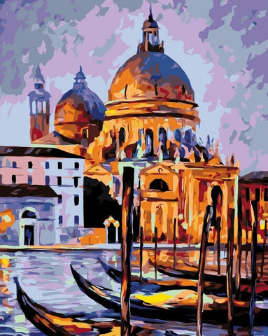 The Night in Venice - Cities Paint By Numbers