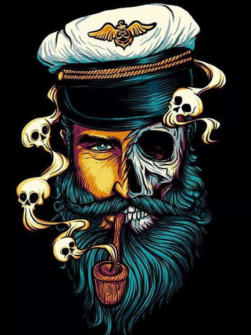 Captain Skull  - People Paint By Numbers