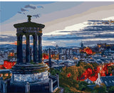 Calton Hill Edinburgh - Cities Paint By Numbers