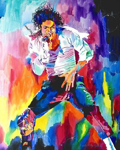 Michael Jackson  - People Paint By Numbers