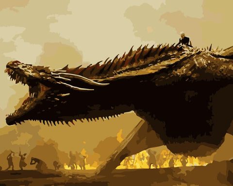Drogon Got- Animals Paint By Numbers