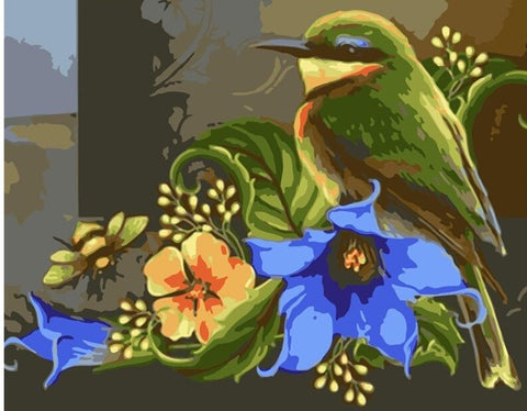 Gorgeous Bird - Birds Paint By Numbers