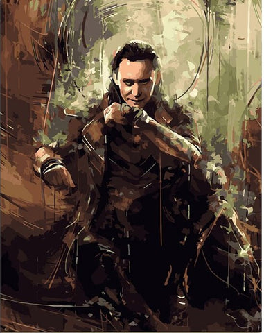 The Avengers Loki - People Paint By Numbers