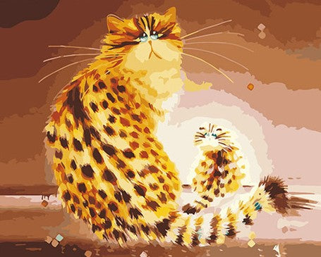 Domestic Cat - Animals Paint By Numbers