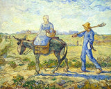 Going out to Work Van Gogh - People Paint By Numbers