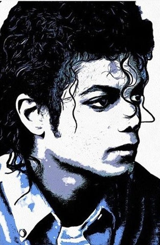King Michael Jackson - People Paint By Numbers