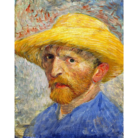 Van Gogh in a Straw Hat  - People Paint By Numbers