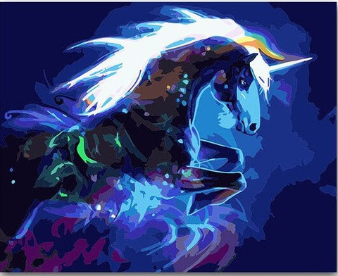 Fantasy Unicorn- Animals Paint By Numbers