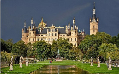 Schwerin Castle - Cities Paint By Numbers