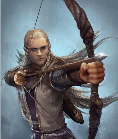 Legolas- People Paint By Numbers