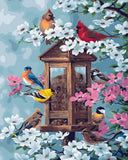Bird Cages - Birds Paint By Numbers