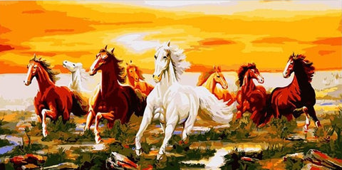 Herd of Horses - Animals Paint By Numbers