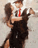 Passionate Tango dancing - DIY Paint By Numbers - Numeral Paint