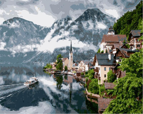 Hallstatt Austria - Cities Paint By Numbers