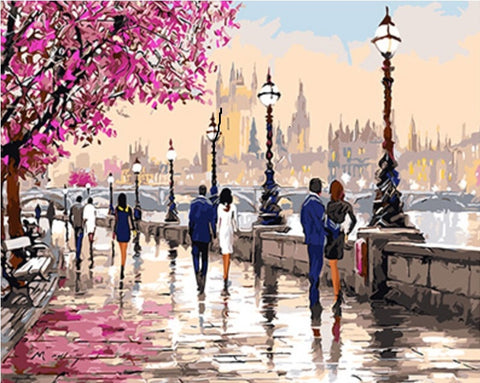 Romantic Park London - Cities Paint By Numbers