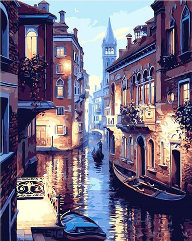 Venice Landscape - DIY Paint By Numbers