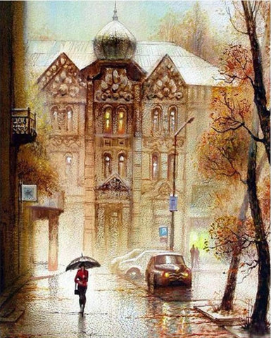 Moscow Street - Cities Paint By Numbers