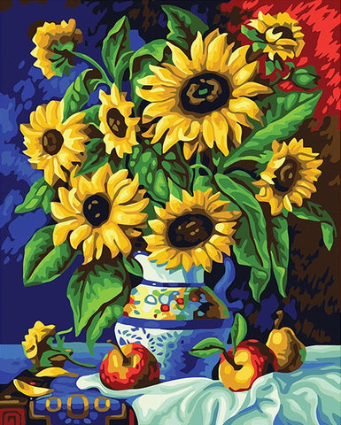 Sunflower - DIY Paint By Numbers