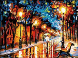 Night Park Vienna - Cities Paint By Numbers