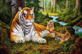 Tigers Animals - DIY Paint By Numbers