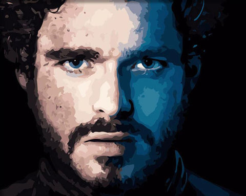 Robb Stark - DIY Paint By Numbers
