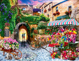 Flowers Store at Toscana- Cities Paint By Numbers