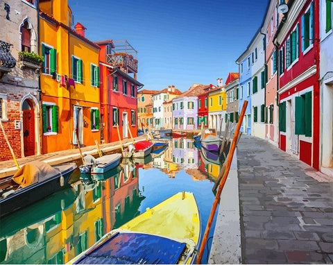 Burano Venice  - Cities Paint By Numbers
