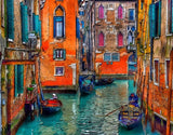 Day in Venice  - Cities Paint By Numbers