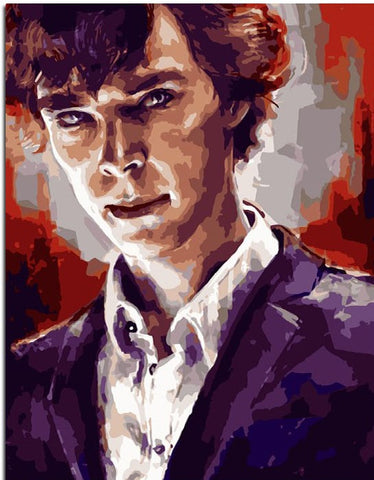 Benedict Cumberbatch - People Paint By Numbers