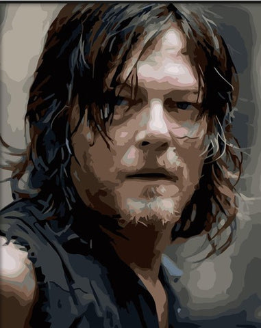 Daryl Dixon- People Paint By Numbers