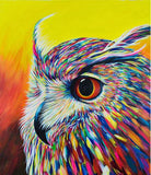 Spectral Owl - Birds Paint By Numbers