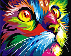 cat custom paint by numbers
