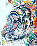 Abstract Malayan Tiger - DIY Paint By Numbers - Numeral Paint