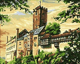 Wartburg Castle- Cities Paint By Numbers