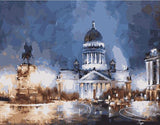 Misty Night in Saint Petersburg- Cities Paint By Numbers